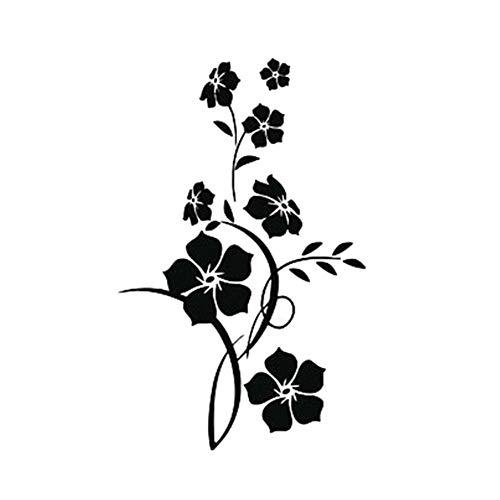 Steellwingsf Frische Blume Wandaufkleber Wohnzimmer Schlafzimmer Tapete Wandtattoo Wohnkultur