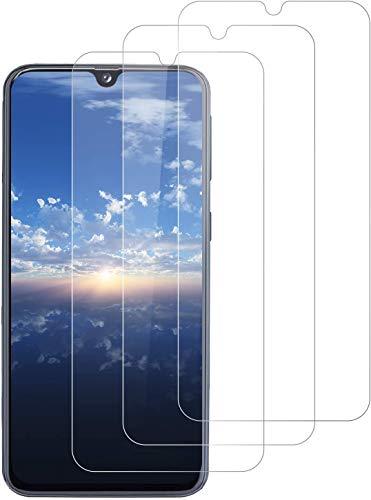 Aspiree 3 Piezas Samsung Galaxy A40 Protector Pantalla, Cristal Templado Para Samsung Galaxy A40, [Anti-arañazos] [9H Dureza] [Sin Burbujas]