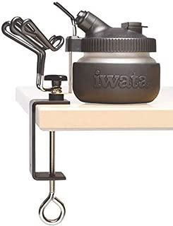 Iwata Estación de trabajo universal (olla de limpieza y percha universal para aerógrafo)