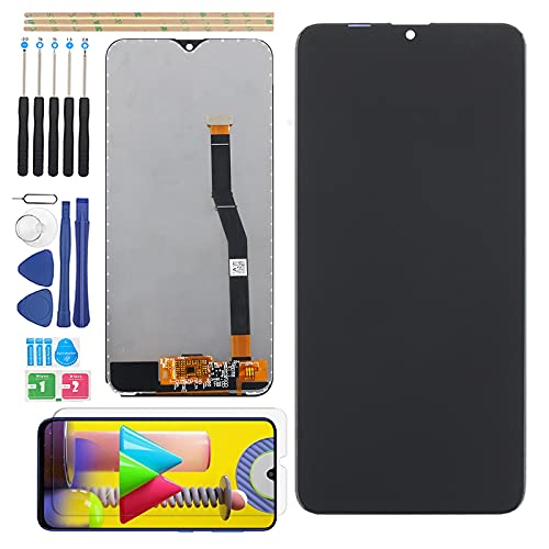 Screen Replacement for Samsung Galaxy M20 LCD Display LCD Screen Touch Panel for Galaxy M20 M205F M205G Glass Digitizer Assembly with Tools(Black)
