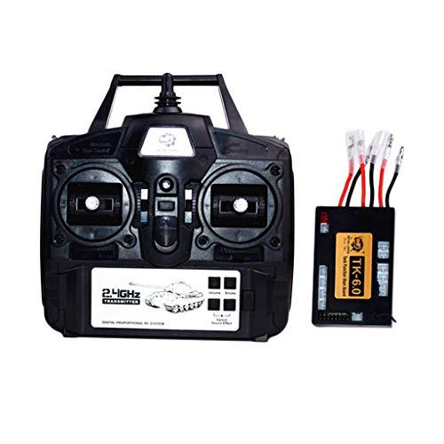 professional Lovein DIY 6.0 Function Motherboard + 2.4G Transmitter Remote Control System Heng Long 1:16…