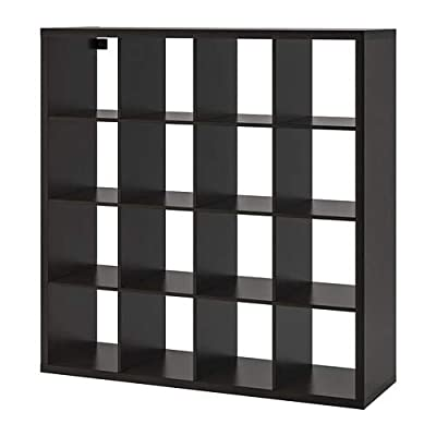 Ikea ' New KALLAX Shelf Unit, Black-Brown