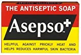 Asepso Antiseptic Soap Antibacterial Agent Soap, 80g