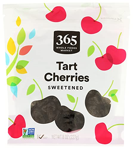 365 by Whole Foods Market, Dried Fruit, Tart Cherries - Sweetened, 8 Ounce