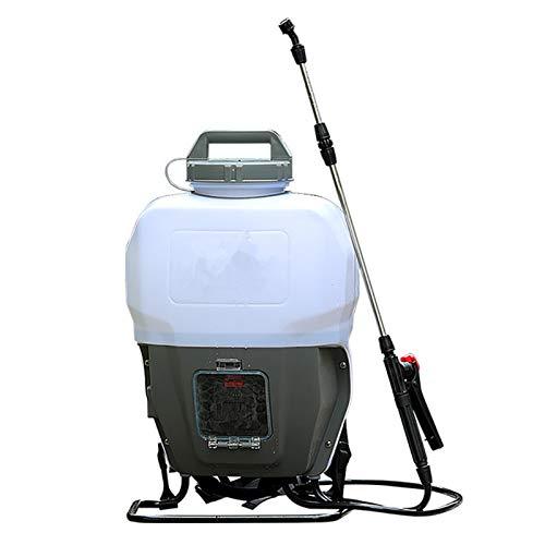 Filtro Profesional Acuario 2Ah / 4Ah 15L eléctrica pulverizador ULV Nebulizador 4 boquillas de Litio de la Bomba de Mochila portátil Desinfección Mosquito pulverización fría Fogger (Color : 2AH)