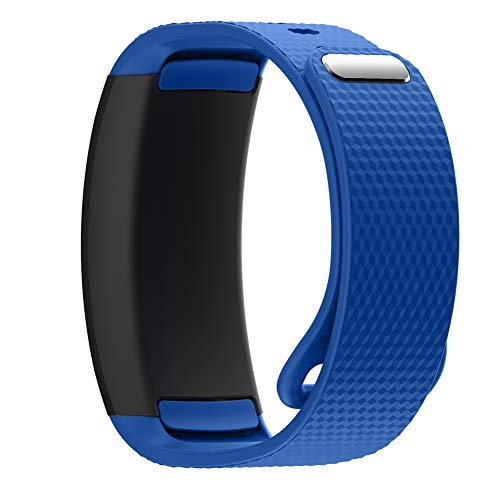 YINKINY Correa para Samsung Galaxy Gear Fit 2 Silicona Pulsera de Repuesto Replacement Bands Accesorios para Samsung Gear Fit2 Smartwatch