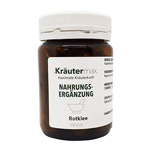 Kräutermax Extracto de trébol rojo 312 mg cápsulas 1 x 60 piezas veganas