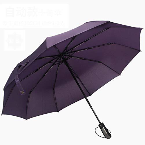ZPN 3 opvouwbare paraplu Tien botten volledig automatische paraplu opvouwbaar