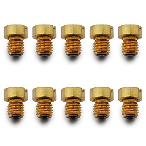 Easyboost Kit de 10 Chicles Alta 5mm para Carburador Dell'Orto PHBG 19 y 21mm Medidas 50-52-55-58-60-62-65-68-70-72 para Scooter Moto 50
