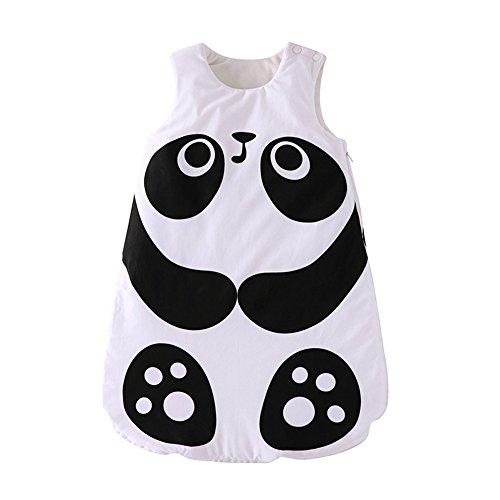 Fairy Baby Baby Fleece Sleeping Bag Animals Wearable Blanket for Winter Fall,Panda,3-12 Months thumbnail image