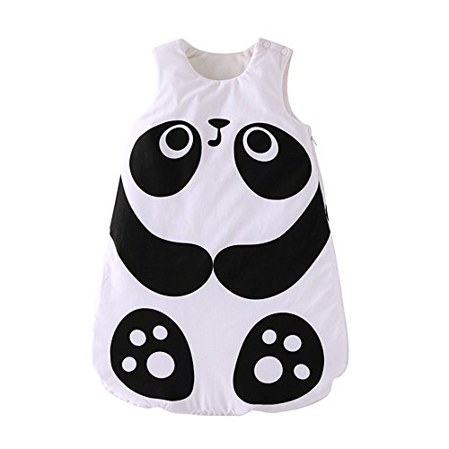 Fairy Baby Baby Fleece Sleeping Bag Animals Wearable Blanket for Winter Fall,Panda,3-12 Months thumbnail image