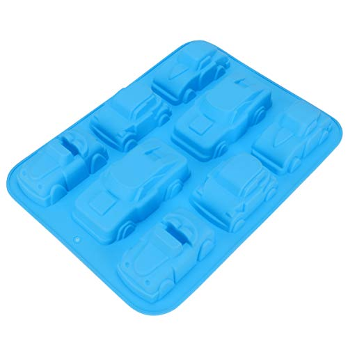 OSALADI Silicone Baking Molds Car Shape Cake Mold Decorative Non-stick Silicone Cake Pan Gifts for Kids Homemade Cakes Breads Meatloaf Quiche