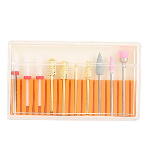 Pedicure Drill Bit, High Strength High Compatibility Nail Drill Bit, for Home Beauty Salon