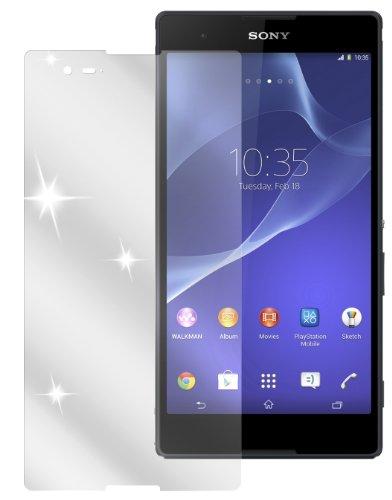 dipos I 2X Schutzfolie klar kompatibel mit Sony Xperia T2 Ultra Folie Bildschirmschutzfolie