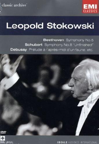 Collection Classic Archive : Stokowski, Leopold (Beethoven - Symphonie n°5 / Schubert - Symphonie n°8 / Wagner - Prélude des Maîtres chanteurs de Nuremberg / Debussy - Prélude à l'après midi d'un faune)