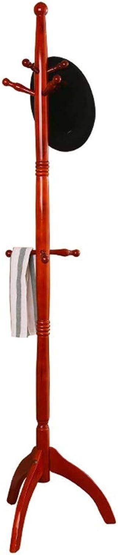 XIAOLONG Simple Solid Wood Coat Rack Floor Hanging Rack Simple Fashion Floor Hanger Creative Bedroom Clothes Rack -45