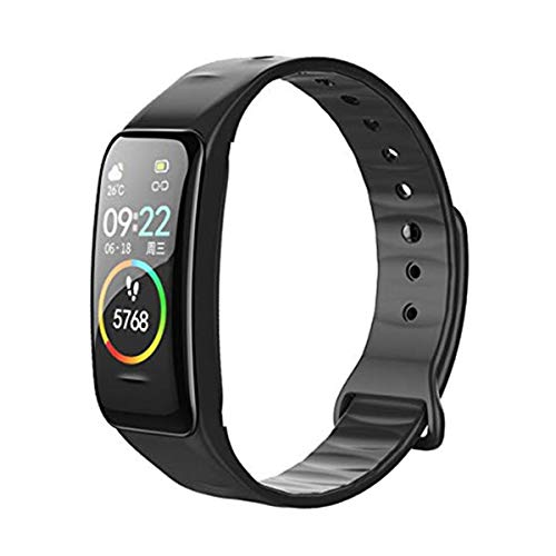 vikano Fitness Tracker, Activity Tracker Watch with Heart Rate Monitor Waterproof Smart Fitness Band with Step Counter Calorie Counter Pedometer Watch for Kids Women and Men (Black1)