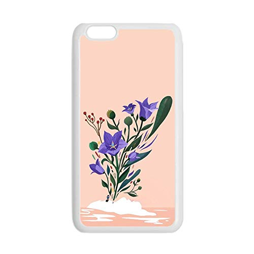 with Flower 1 Boy Hard Pc Cases Hipster Compatible with iPhone 7 8 4.7Inch Apple Choose Design 132-1