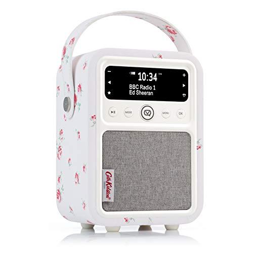 VQ Monty DAB/DAB+ digitale en FM-radio met Bluetooth en wekfunctie - Cath Kidston Scattered Rose