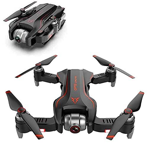 DCLINA GPS Mini RC Drone con Fotocamera 4K, RC Quadcopter Follow Mode Drone Pieghevole con Ritorno Automatico dell'altitudine