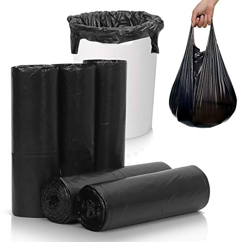 Skycase Trash Bags, Garbage Bags, 5 Rolls 100 counts [Extra Thick][Leak...