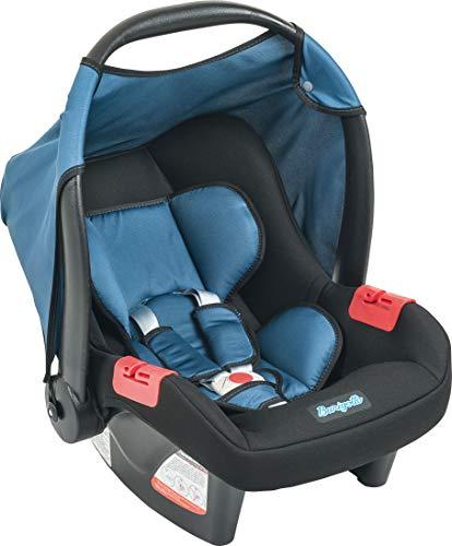 Bebê Conforto Touring Evolution SE, Burigotto, Preto e Azul, Até 13 kg