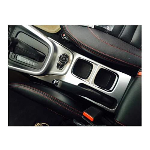 PEIPEI HanGao Ajuste for Suzuki Vitara 2016 1PC ABS Cromo del Coche Gear Shift Knob Cubierta de Pegatinas Panel de Ajuste Molduras Car Styling Accesorios Elegante y Hermoso