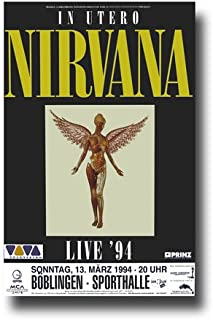 Best poster nirvana in utero Reviews