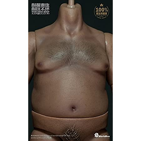 1/6スケール フィギュア WorldBox AT018 Durable body Plump Body 肥満男性素体 生殖部付