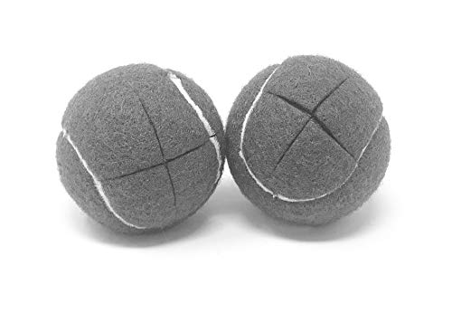 AMP Top Glides Precut Walker Tennis Ball Glides (Gray)