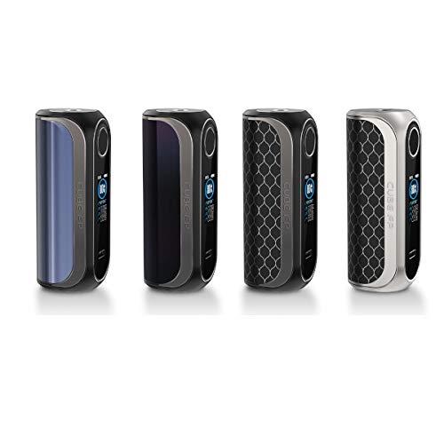 OBS Cube FP 80W Box Mod Akkuträger E-Zigarette Fingerprint Farbe Silber