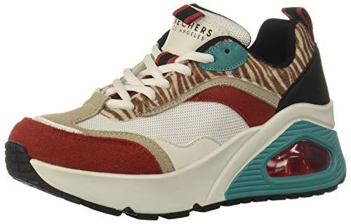 Skechers UNO HI Wildly High, Zapatillas Mujer, White, 37 EU