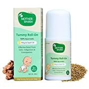 Relieves Stomach Discomfort: - Mother Sparsh Tummy Roll On is an Ayurvedic solution for babies suffering from colic, indigestion and constipation. Relieves Gas Pain: - As per our Ancient Ayurveda Hing (Asafoetida) helps to treat abdominal colic, gas,...
