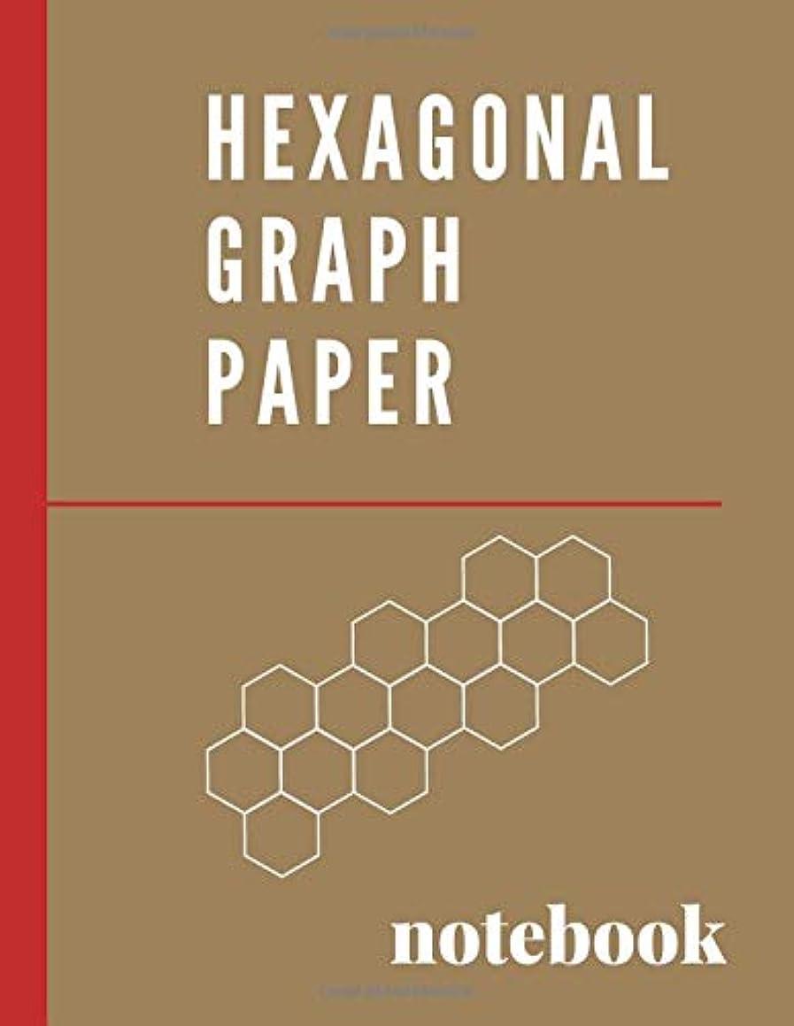Hexagonal Graph Paper Notebook: 0.2