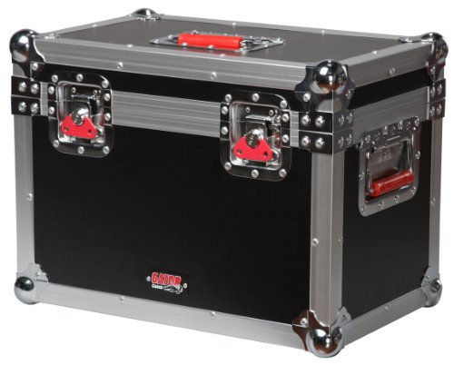Gator Cases G-TOUR Series ATA Style Road Case for Mini Electric Guitar Amp Heads Such as Marshall JTM1H - Equipped with Heavy Duty Latches and Spring Loaded Handles; (G-TOURMINIHEAD2)
