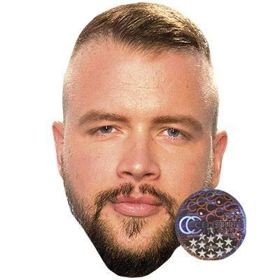 Celebrity Cutouts Kollegah Big Head.
