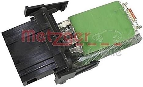 Metzger 0917003 Resitencia, ventilador habitáculo
