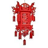 FGASAD Red <span class='highlight'>Chinese</span> <span class='highlight'>Lanterns</span>, <span class='highlight'>Chinese</span> 3D Lantern with Fu Character for <span class='highlight'>Chinese</span> New Year, <span class='highlight'>Chinese</span> Spring Festival, Wedding, Lantern Festival Celebration Décor