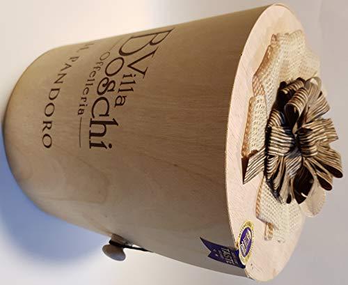 Il Pandoro Fresco confezione regalo di legno 1 kg Villa Boschi Offelleria