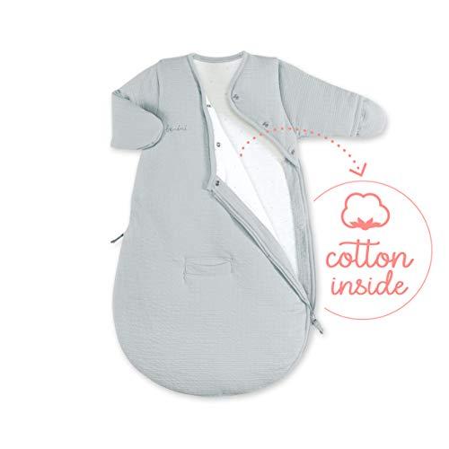 BEMINI Magic Bag slaapzak, maat 0/3 maanden, 60 cm, grijs