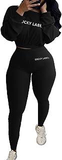 النساء 2 قطعة ملابس قصيرة الأعلى بنطال رياضي أحدث ملابس الربيع عارضة تجريب Sweatsuits مثير