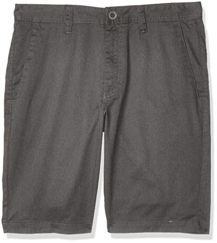 Volcom Herren Short Frckn Mdrn Strch Sht Chino, Charcoal Heather, 36