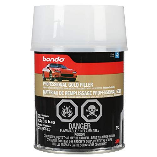 Bondo Professional Gold Filler, 00233, 1 Quart