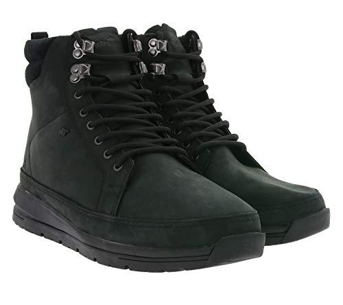 Boxfresh Loadha Schnürstiefel begehrte Herren Stiefeletten Schuhe Stiefel Wanderschuhe Schwarz, Größe:42