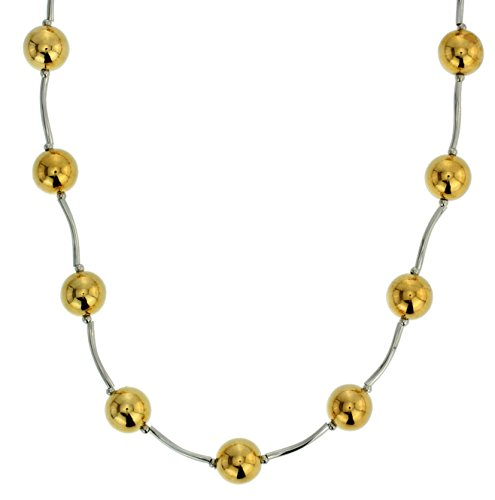 Behave goudkleurige parelketting voor vrouwen – unieke halsketting met gouden parels – sieradencadeau voor haar