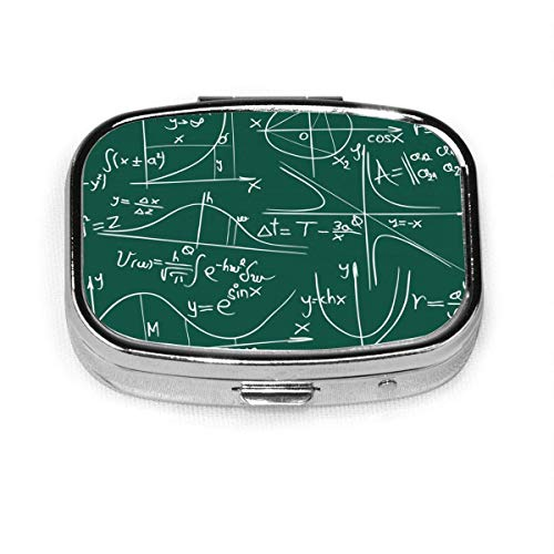 Amo la ecuación matemática Caja de píldora de caja personalizada/Caja de píldora/Caja de píldora cuadrada