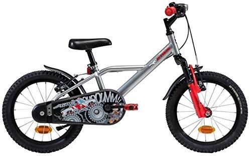 Xiaoyue Fahrräder Kinderfahrradpedal 3~10 Jahre alt Kinder Fahrrad Grundschulkind Kinderwagen Fahrrad im Freien Freizeit Fahrrad Park Road Bike Üben (Farbe: Rot, Größe: 16inches) lalay
