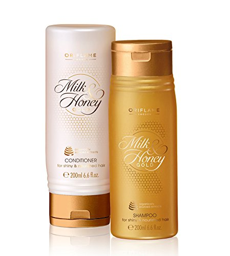 Oriflame Milk and Honey Gold Shampoo and Conditioner, 400ml