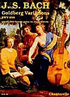 Goldberg Variaciones BWV 988–Arreglados para guitarra [de la fragancia/Alemán] Compositor: Bach Johann Sebastian