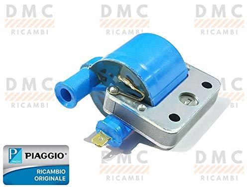 Bobina de encendido Piaggio SI – Bravo – Ciao – Rejilla – Vespa 50 Special – ET3 – Ape 50 original Piaggio 244114